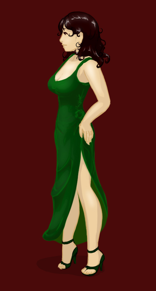Green Gown 1
